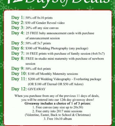 12 Days of Deals!
