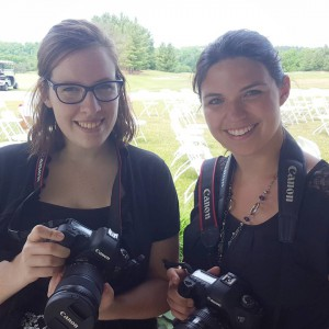 Aww it's baby Lauren on her first wedding with AKPV! (She still occasionally forgets to take the lens cap off)